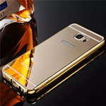 Luxury Metal Bumper With Mirror Acrylic Back Cover For Samsung Galaxy S7 S7 Edge S8 S8 Plus Note 5 8
