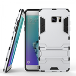 Tough Armor Shockproof Slim Protective Case for Samsung Galaxy Note 7 - Silver