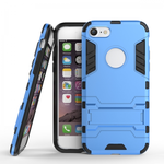 Slim Armor Shockproof Kickstand Protective Case for iPhone SE 2020 / 8 4.7inch - Blue