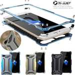 R-JUST Gundam Shockproof Full Aluminum Metal Case Cover for iPhone 8 7 6S Plus X XS Max XR