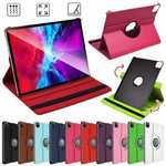 For iPad Pro 11 Inch Rotating Case Leather Cover Smart Stand