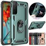For Samsung Galaxy S21 Plus S20 Note 20 Ultra Case Shockproof Stand Armor Rugged Cover