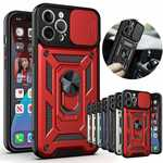 For iPhone 12 Pro Max Case Slide Camera Lens Protective Phone Cover