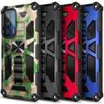 Case For Motorola Edge 5G UW Full Body Armor Kickstand Shockproof Cover