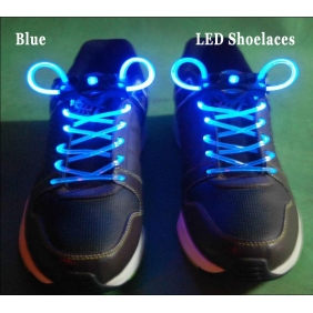 LED Light Up Shoelaces Flash Shoestrings(Blue)