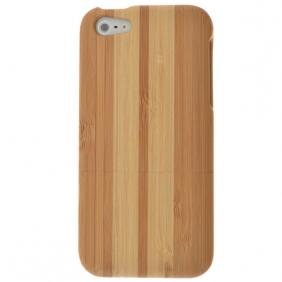 Natural Bamboo Hard Back Cover Case Skin for iPhone 5 5S SE