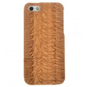 Genuine 100% Natural Bamboo handmade Hand-Carved Case Cover for iPhone 5 5S SE