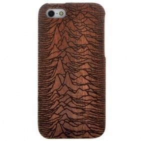Genuine 100% Natural Wood handmade Hand-Carved Wooden Case Cover for iPhone 5 5S SE