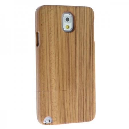 100% Handmake Natural Small Stripes Real Wood Wooden Case Cover for Samsung Galaxy Note 3 III N9000
