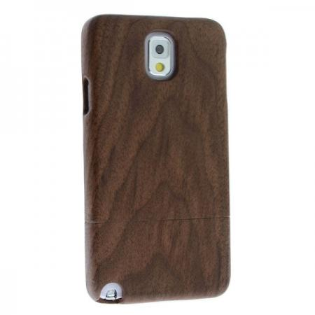New Real Natural Black Walnut Wood Wooden Hard Case Cover for Samsung Galaxy Note 3 III N9000