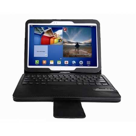 Bluetooth Keyboard Leather Case Cover For Samsung Galaxy Tab 4 10.1 T530