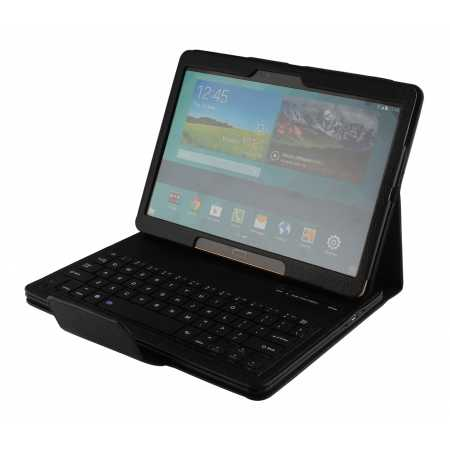 Bluetooth Keyboard Leather Case Cover For Samsung Galaxy Tab S 10.5 T800 - Black