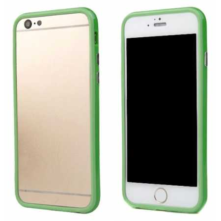 Soft TPU Bumper Frame Case for iPhone 6 4.7inch - Green