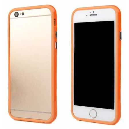Soft TPU Bumper Frame Case for iPhone 6 4.7inch - Orange