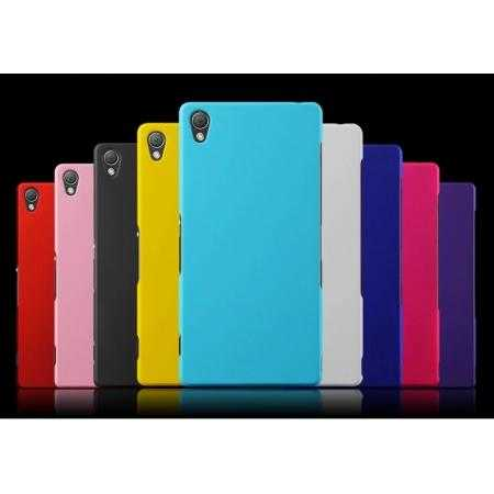 Rubberized Hard Back case cover for Sony Xperia Z3