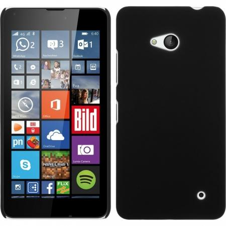 Ultra Thin Hard Protective Back Case Cover for Microsoft Lumia 640 - Black