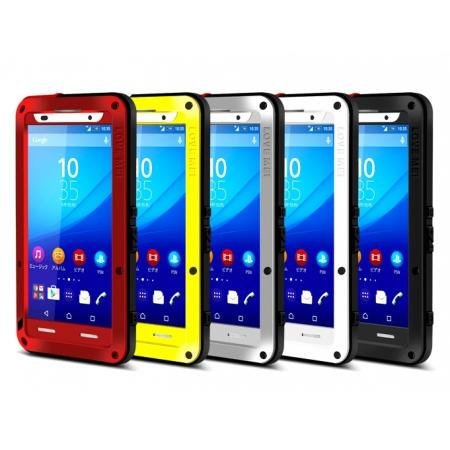 ShockProof Dustproof Aluminum Gorilla Glass Metal Case for Sony Xperia Z3+/Z4
