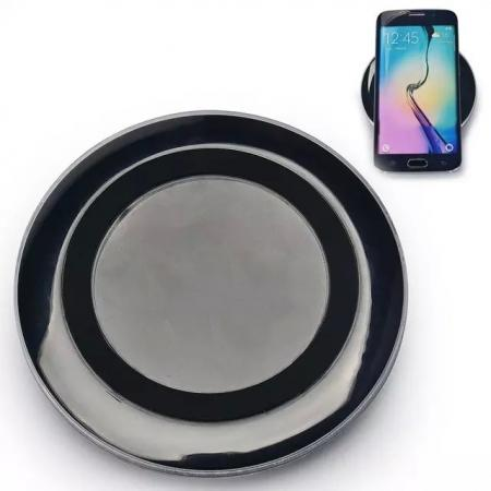 Wireless Charger Charging Pad for Samsung Galaxy S6 S6 Edge - Black