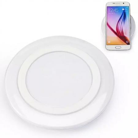 Wireless Charger Charging Pad for Samsung Galaxy S6 S6 Edge - White