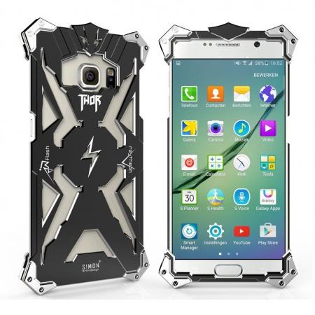 original authentic Rugged the Flash Aluminum Metal Case For Samsung Galaxy S6 Edge/S6 - Black
