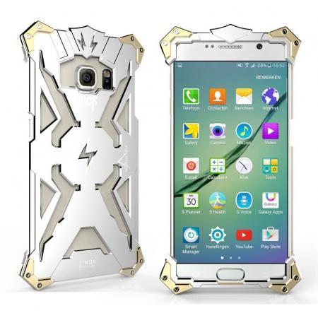 original authentic Rugged the Flash Aluminum Metal Case For Samsung Galaxy S6 Edge/S6 - Silver