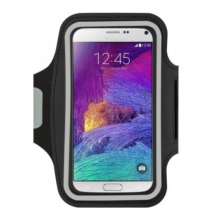 Gym Running Sports Armband Case For Samsung Galaxy Note 5 - Black