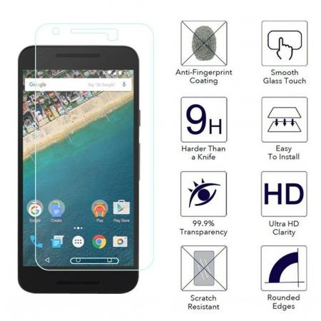 High Quality Premium Hard Real 9H Tempered Glass Film Screen Protector for LG Nexus 5X