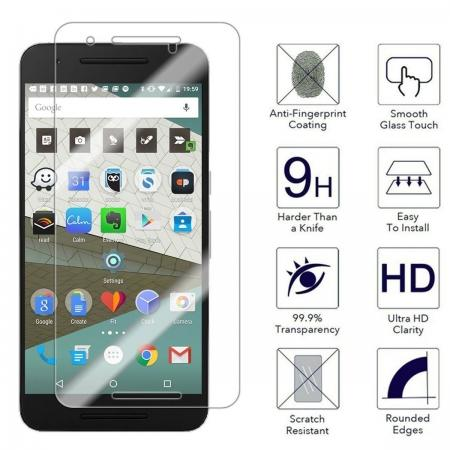 Ultra Slim 9H Premium Real tempered Glass film Screen Protector for Huawei Nexus 6P