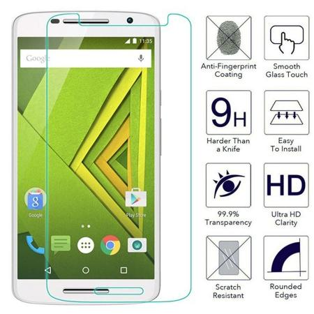 Ultra Thin 9H HD Tempered Glass Screen Protector Film for Motorola Moto X Play
