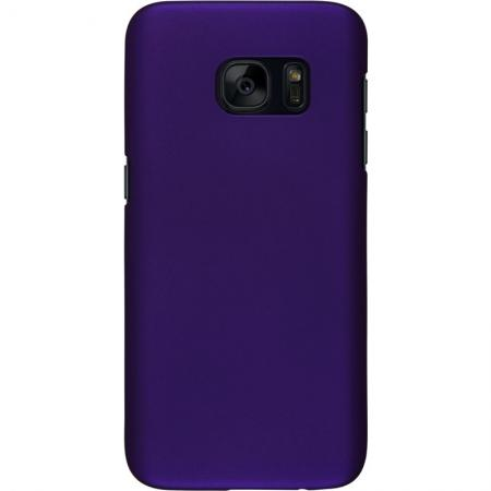Matte Ultra Thin Rubber Hard Plastic PC Back Case Cover Skin For Samsung Galaxy S7 - Purple