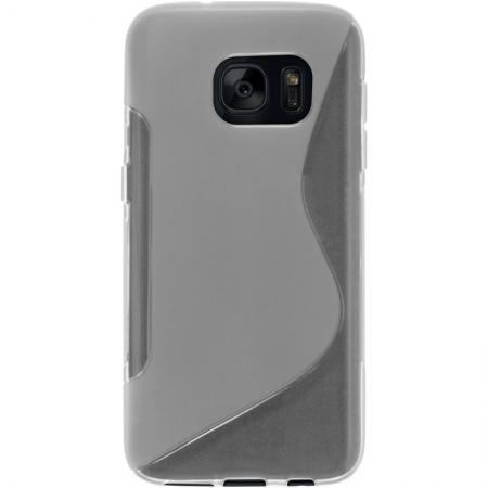 S Style TPU Silicone Case Rubber Soft Gel Cover For Samsung Galaxy S7 - Clear