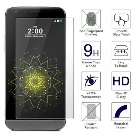 Ultra-thin 9H Hardness Premium Clear Tempered Glass Screen Protector Film For LG G5