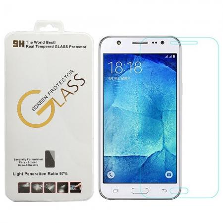 2.5D 9H Premium Tempered Glass Screen Protector Film For Samsung Galaxy J7 SM-J700F 2015