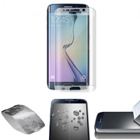 9H Transparent 3D Curved Tempered Class Full Cover Screen Protector for Samsung Galaxy S6 Edge+/Plus