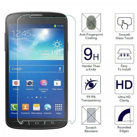 Premium Ballistic Tempered Glass Screen Protector For Samsung Galaxy S4 Active i9295