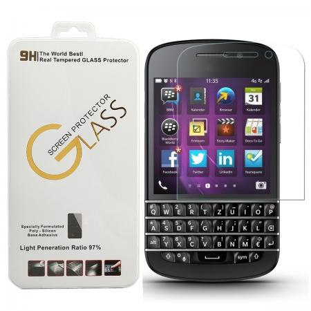 Ultra Slim Premium Real Tempered Glass Screen Protector Film for BlackBerry Q10