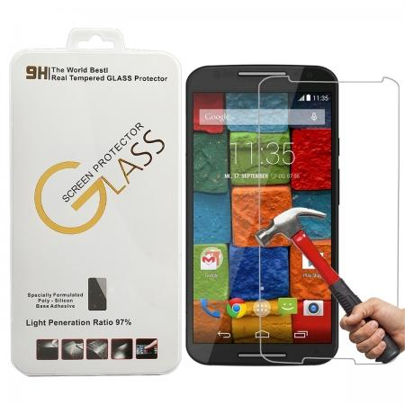Ultra-thin HD Tempered Glass Screen Protector Film For Motorola Moto X+1 (2nd Gen)