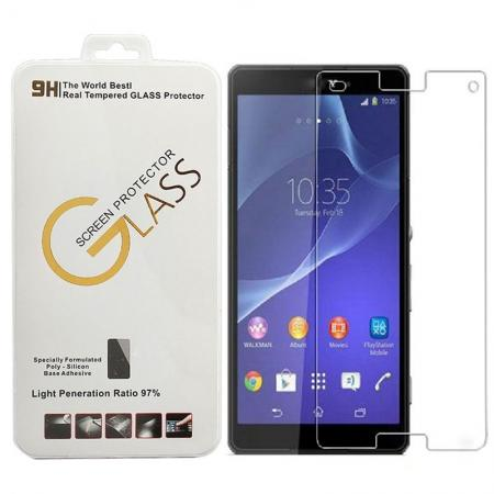 100% Genuine Tempered Glass Screen Protector Guard Film For Sony Xperia Z3
