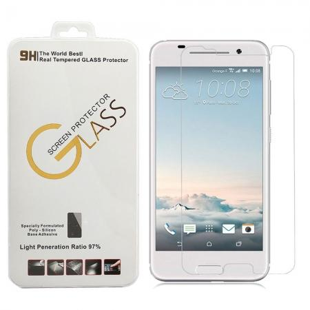 9H Scratch Resistant Shatterproof Tempered Glass Screen Protector Film for HTC One A9