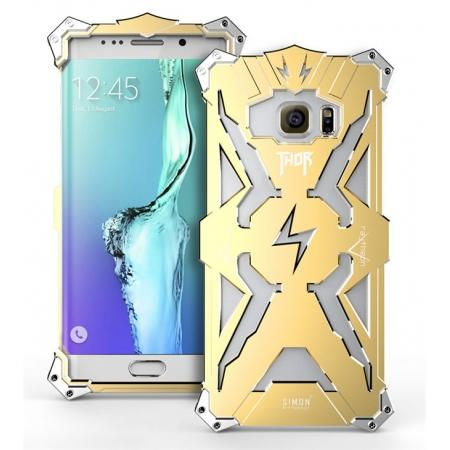 Aluminum Metal Bumper Shockproof DustProof Heavy Protection Case Cover for Samsung Galaxy S7 Edge