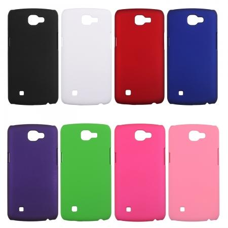Ultra Slim Rubberized Matte Hard Case Cover for For LG K4 / Spree