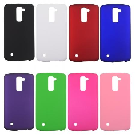 Ultra Slim Rubberized Matte Hard Phone Back Cover Case For LG K10