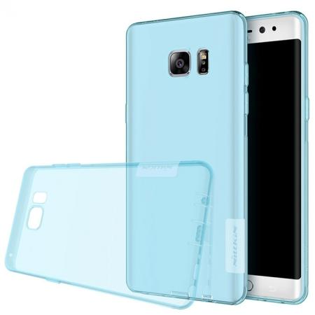 Nillkin Nature Series Clear Soft TPU Case Back Cover for Samsung Galaxy Note 7 - Blue