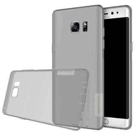 Nillkin Nature Series Clear Soft TPU Case Back Cover for Samsung Galaxy Note 7 - Grey