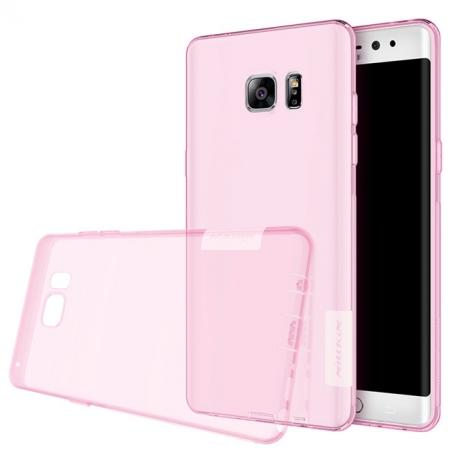 Nillkin Nature Series Clear Soft TPU Case Back Cover for Samsung Galaxy Note 7 - Pink