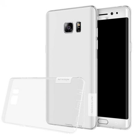 Nillkin Nature Series Clear Soft TPU Case Back Cover for Samsung Galaxy Note 7 - White