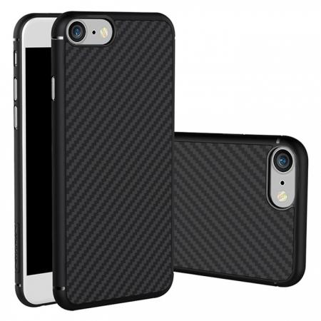 Nillkin Synthetic Fiber Matte Hard Back Case Cover For iPhone 7 4.7 inch - Black