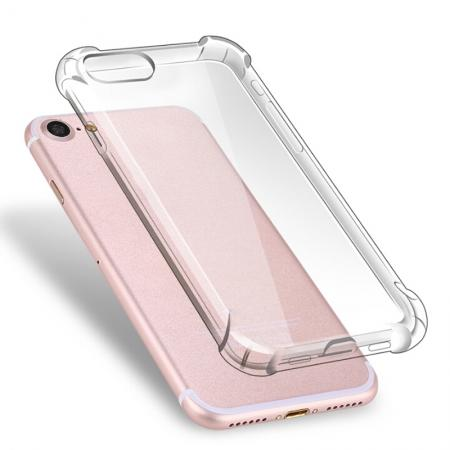 Ultra Thin Slim Clear Soft TPU Shockproof Protector Case for Apple iPhone 7