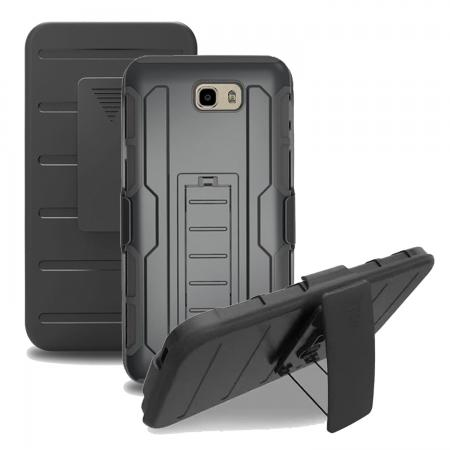 Belt Clip Holster Kickstand Protective Cover Case For Samsung Galaxy J7 2017