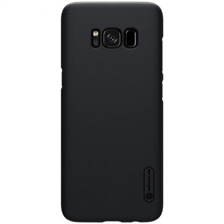 finest selection c4663 dadb3 Nillkin Frosted Shield Hard Case Back Cover for Samsung Galaxy S8 - Black